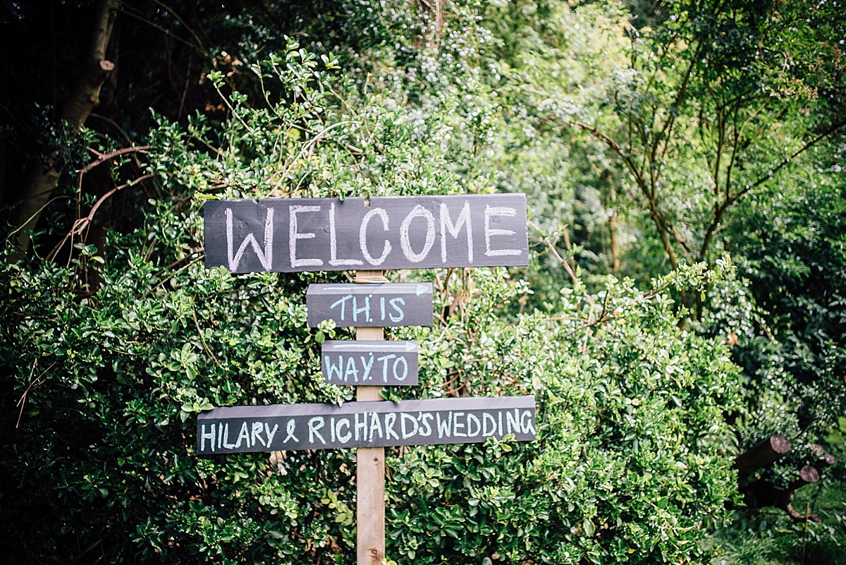 fun wedding photography wedding welcome sign