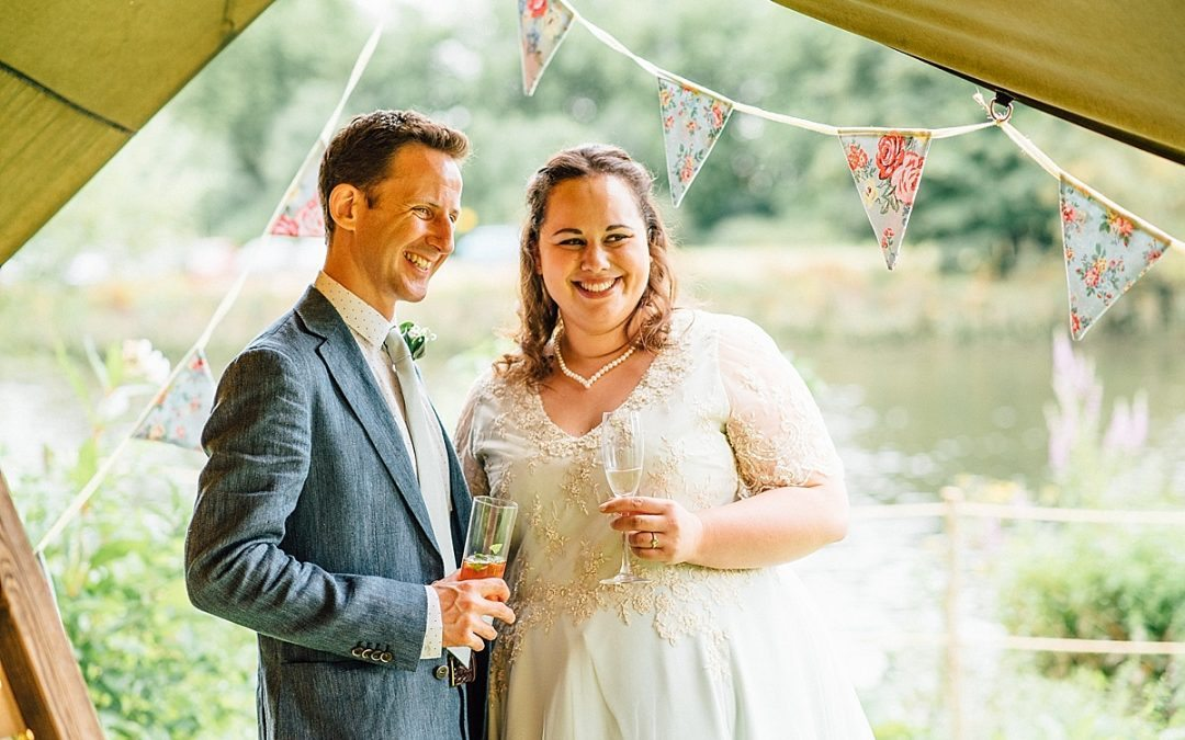 Garden Wedding Photography | The Secret River Garden Wedding | Hilary & Richard