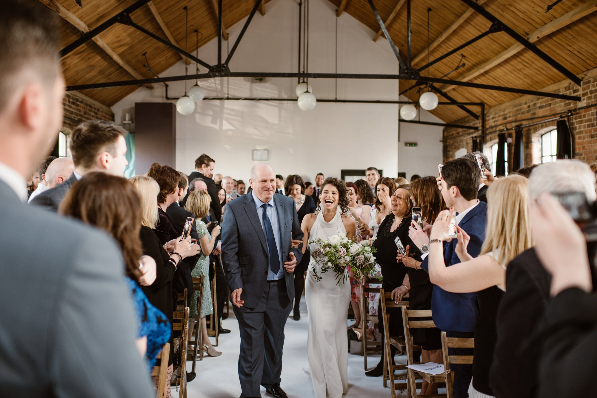 west london wedding venue loft studios interior