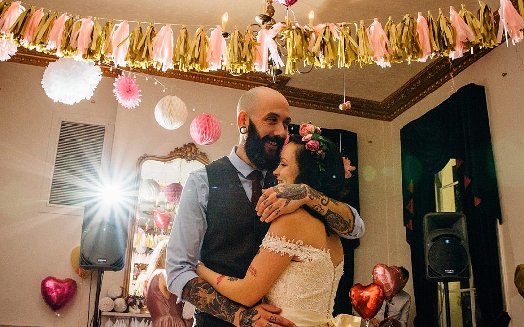 London Pub Wedding | The Royal Inn on the Park | Madeline & Javi