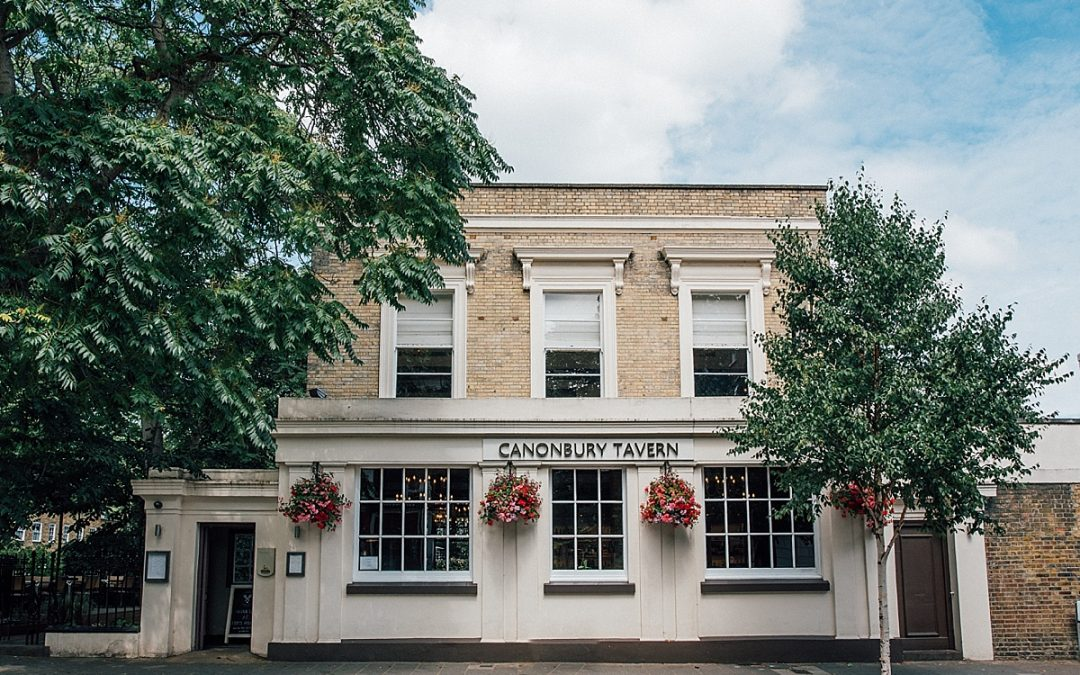 Canonbury tavern wedding