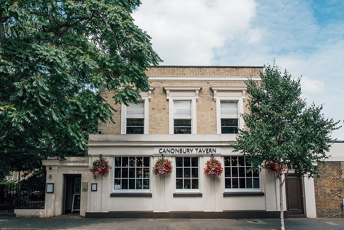 north london wedding venues canonbury tavern islington