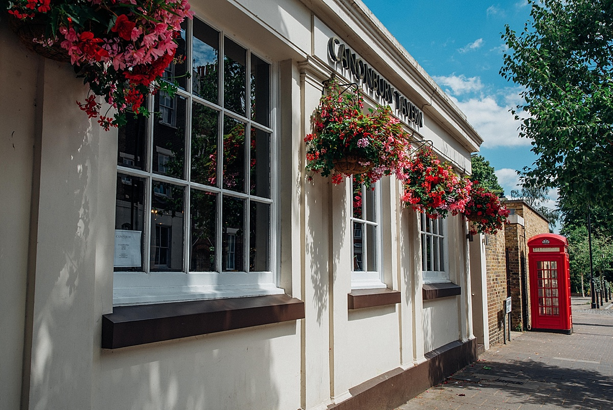 north london wedding venues the canonbury tavern front