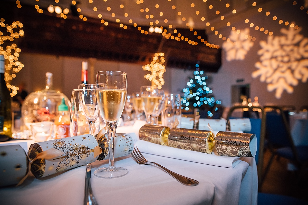 West london wedding venue the amadeus maida vale christmas wedding decoration