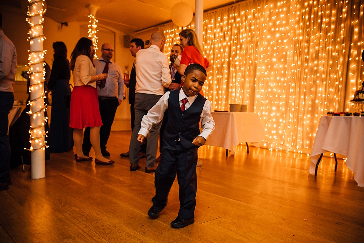 west london wedding venues the amadeus maida vale basement little boy dancing