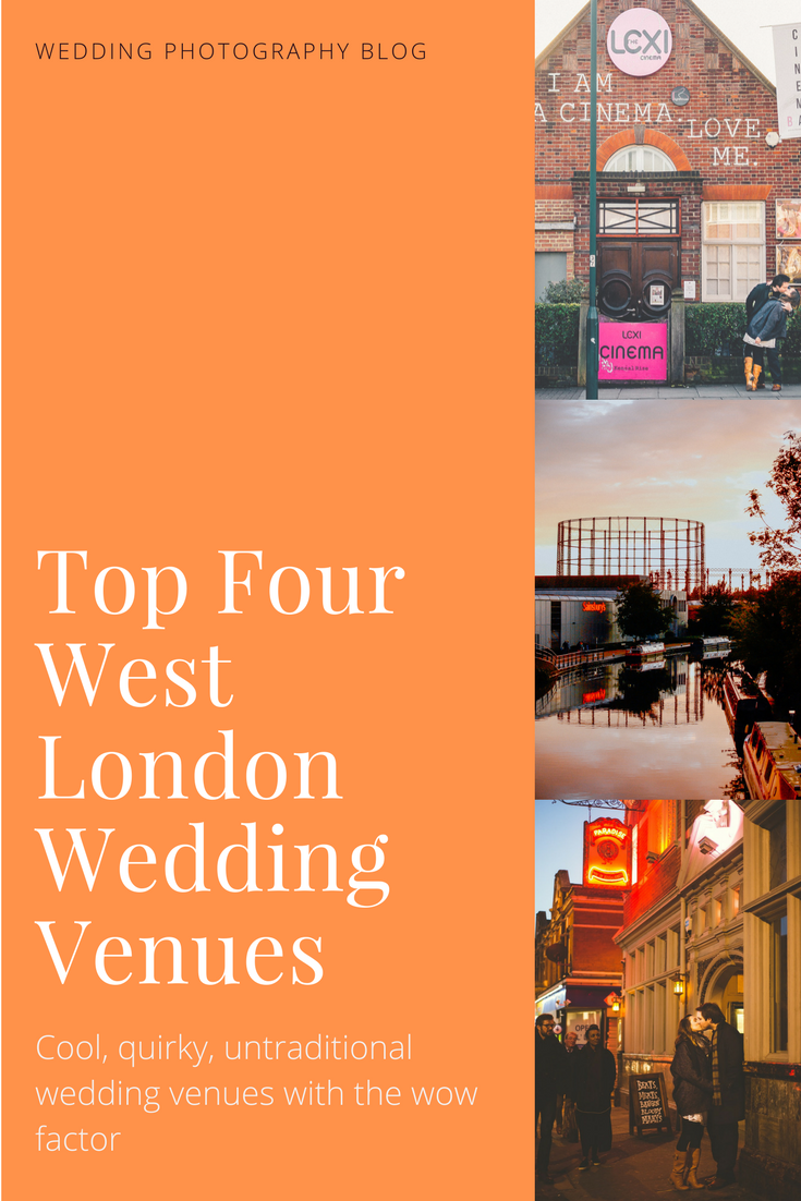 Top 4 West London Wedding Venues