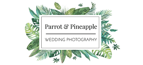 Fun Wedding Photography London - Parrot and Pineapple