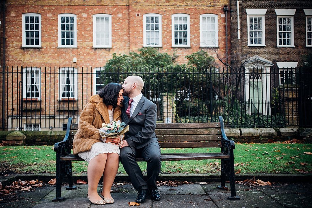 London Elopement Wedding