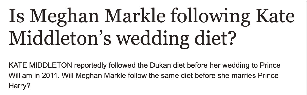wedding-diet-pressure-meghan-markle