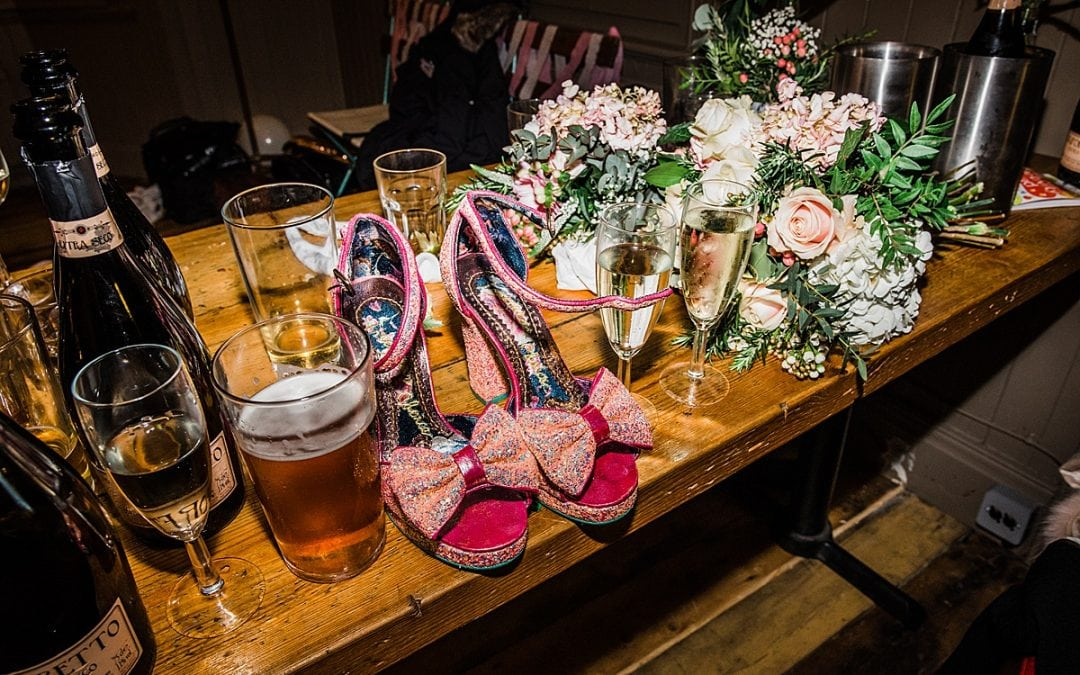 Kat & Aaron | East London Pub Wedding | The Birds