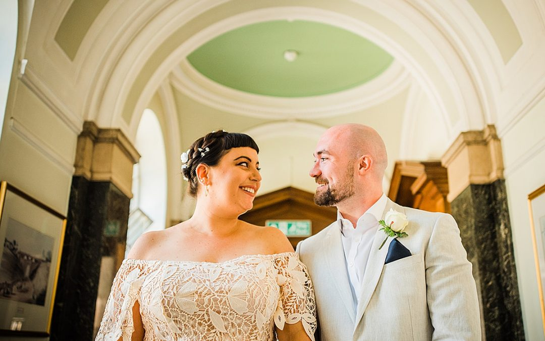 Islington Town Hall Wedding | North London | Lauren & Danny