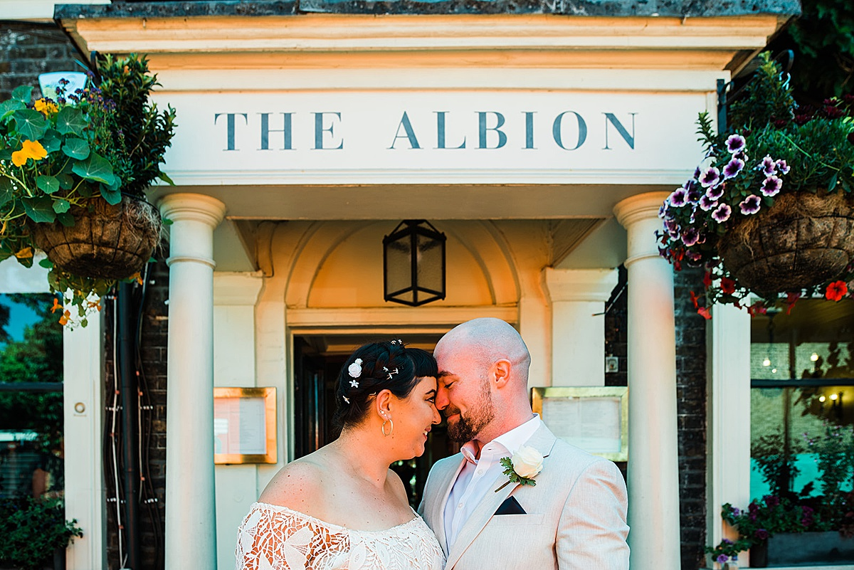 Wedding reception at The Albion Islington