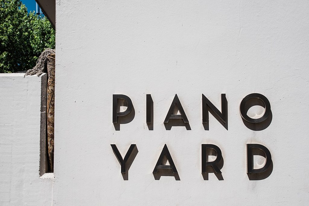 Piano Yard at Burgh House Hampstead