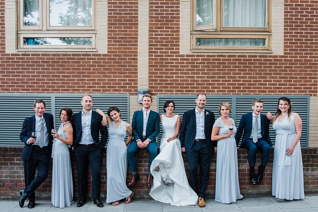 Bridal Party outfits - marks and Spencer and Paul smith