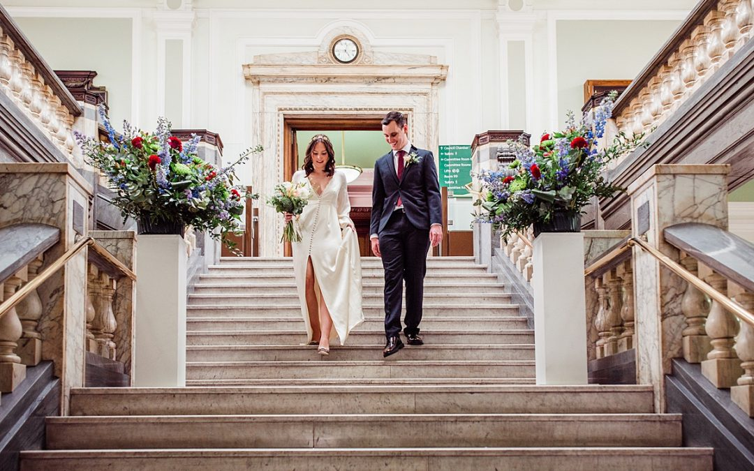 Georgina & Dan | London Elopement | Islington Town Hall