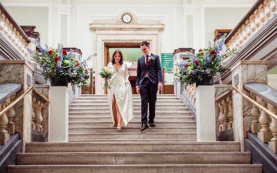 Georgina & Dan | London Elopement | Islington Town Hall