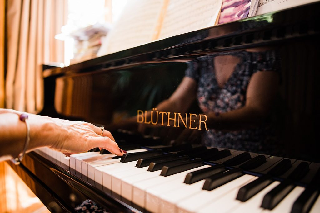 Piano Music at the Burgh House hotel for guests