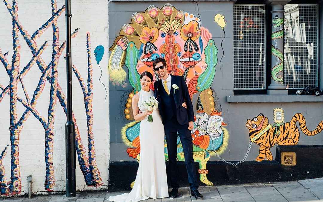 Shoreditch Platform Wedding | East London | Shan & Rob