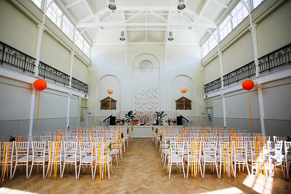 Cultural fusion wedding at The Tab Centre Shoredirtch followed by Hackney Town Hall Reception