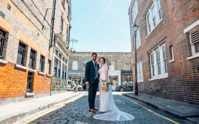 Hackney Town Hall Wedding | East London | Sarah & Somit