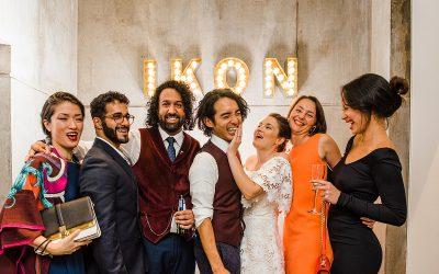 Ikon Gallery Wedding | Birmingham | Charlotte & Ken