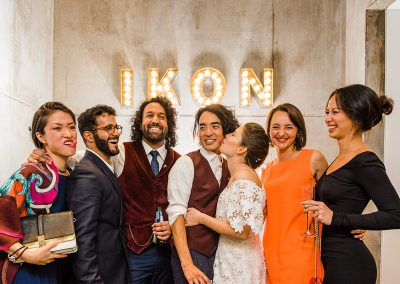 Ikon gallery wedding by Parrot & Pineapple Wedding Photography