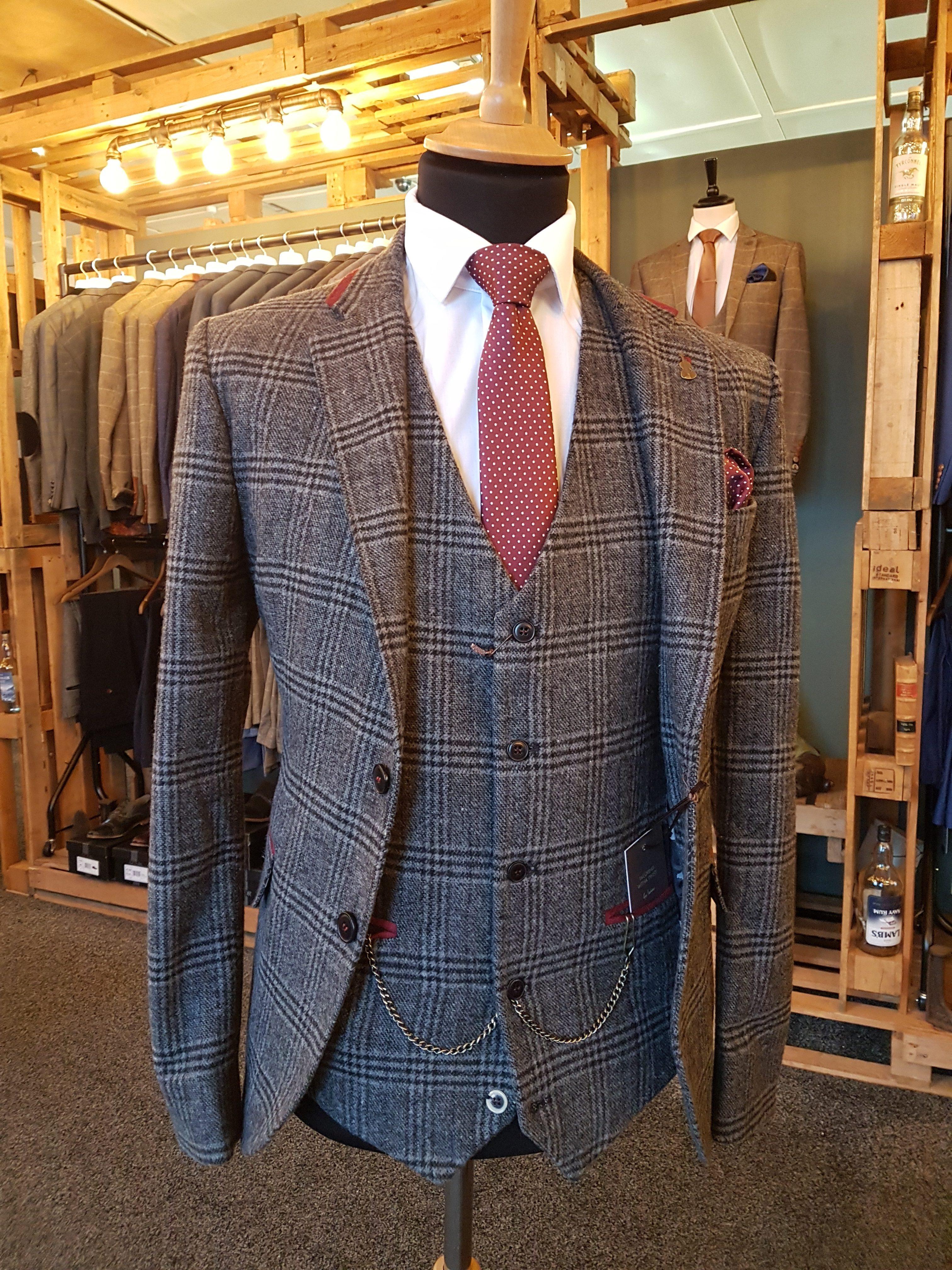 Three piece wedding suit from Bridgewater Menswear