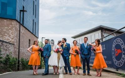 Greenwich Yacht Club Wedding | South London Wedding Venue | Grace & Jiten