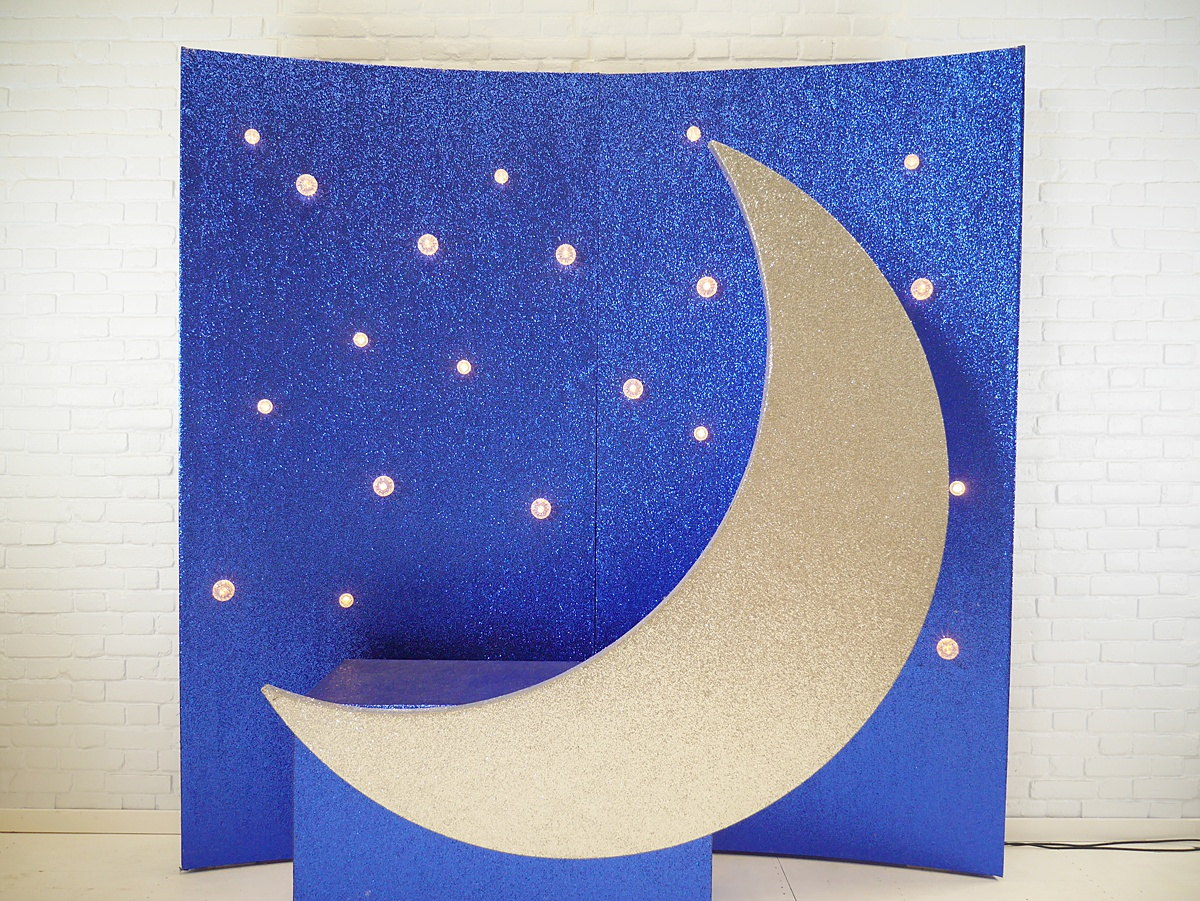 Sit on crescent moon by Vowed and Amazed