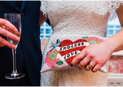 Endless-Love-Beaded-Clutch-Bag-Crooked-Well-Pub-Wedding-Parrot-and-Pineapple-Wedding-Photography