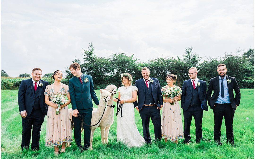 DIY Home Garden Wedding | Erica & James
