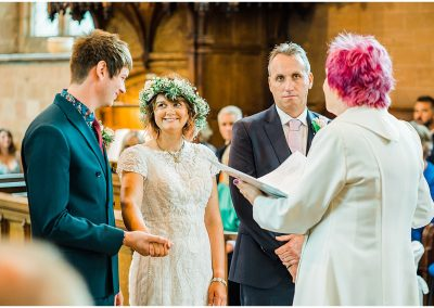 Bride-and-Groom-Temple-Balsall-Church-DIY-Home-Garden-Wedding-Parrot-and-Pineapple-Wedding-Photography