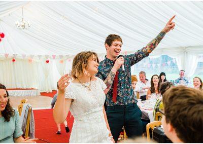 Groom-Wedding-Speech-DIY-Home-Garden-Wedding-Parrot-and-Pineapple-Wedding-Photography