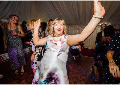 Guests-on-the-dancefloor-DIY-Home-Garden-Wedding-Parrot-and-Pineapple-Wedding-Photography