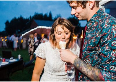 Ice-creams-at-weddings-DIY-Home-Garden-Wedding-Parrot-and-Pineapple-Wedding-Photography