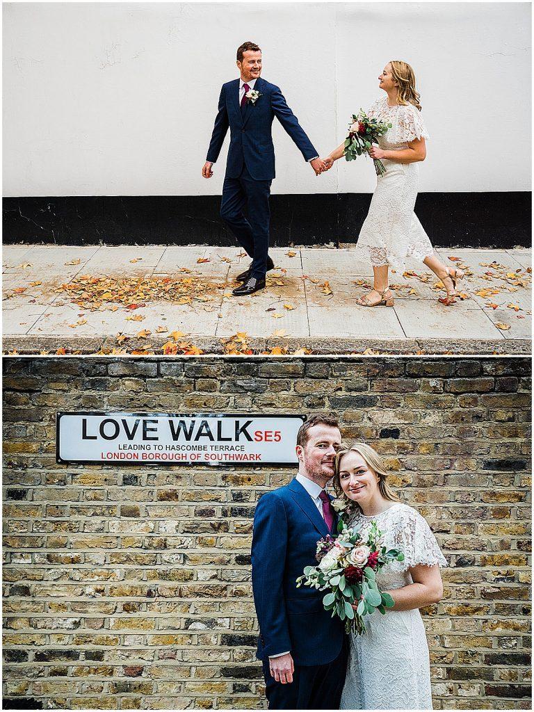 Bride groom wedding portrait whistles lace wedding jumpsuit