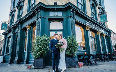 The Londesborough Pub Wedding | London | Hannah and Phil