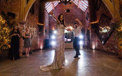 Shustoke Barn Wedding at Christmas | Emma and Neil