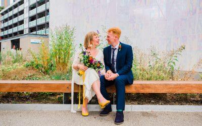 Peckham Employment Academy Wedding | London | Natasha & Alex